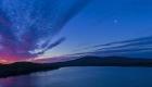 Pleasant Sunrise Wide Pano